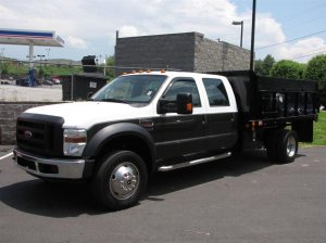 Used 2008 Ford Super Duty F-550 with Dump Body